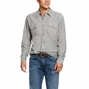 Ariat Mens Kasper Retro Fit Long Sleeve Shirt