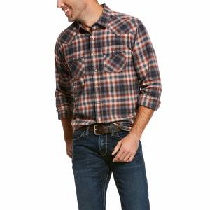 Ariat Mens Kemper Retro Fit Long Sleeve Snap Shirt