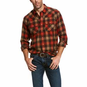 Ariat Mens Kenton Retro Fit Long Sleeve Snap Shirt