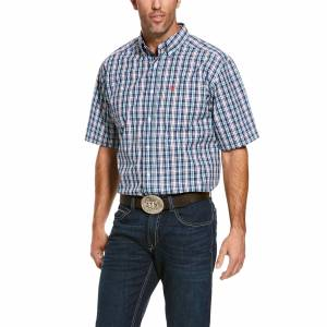 Ariat Mens Pro Series Romy Short Sleeve Classic Fit Shirt