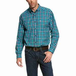 Ariat Mens Pro Series Rooks Classic Fit Long Sleeve Shirt
