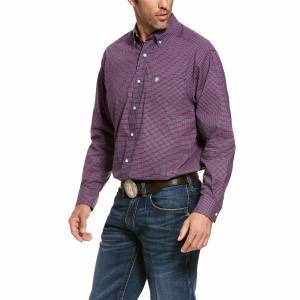 Ariat Mens Pro Series Royce Stretch Classic Fit Long Sleeve Shirt