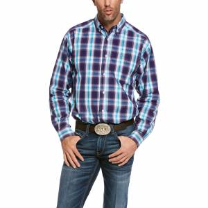 Ariat Mens Pro Series Santos Classic Fit Long Sleeve Shirt