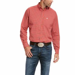 Ariat Mens Pro Series Smulders Stretch Classic Fit Long Sleeve Shirt