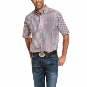 Ariat Mens Pro Series Stanley Stretch Classic Fit Short Sleeve Shirt