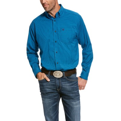 Ariat Mens Pro Series Stetson Stretch Classic Fit Long Sleeve Shirt