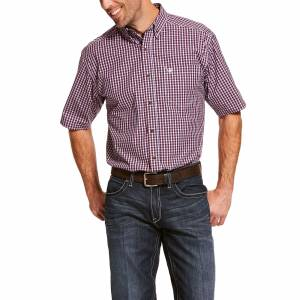 Ariat Mens Pro Series Suderman Classic Fit Short Sleeve Shirt