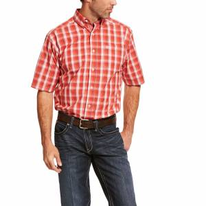 Ariat Mens Pro Series Sulley Classic Fit Short Sleeve Shirt