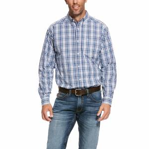 Ariat Mens Pro Series Sulzman Classic Fit Long Sleeve Shirt