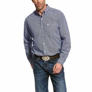 Ariat Mens Ramos Classic Fit Long Sleeve Shirt