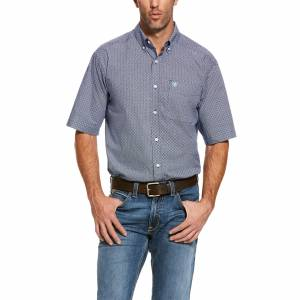 Ariat Mens Reeves Classic Fit Short Sleeve Shirt