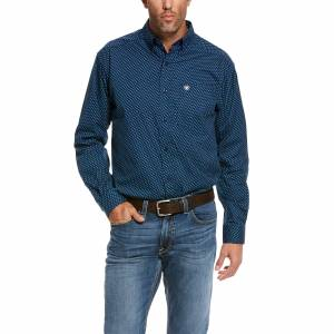 Ariat Mens Rosano Stretch Classic Fit Long Sleeve Shirt