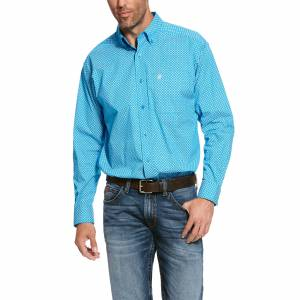 Ariat Mens Scott Stretch Classic Fit Long Sleeve Shirt