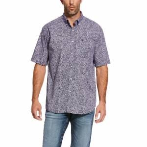 Ariat Mens Stallings Classic Fit Short Sleeve Shirt