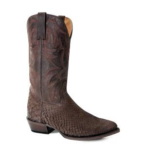Roper Mens All In R Toe Western Boots