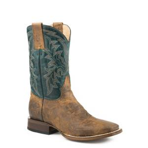 Roper Nash Boots - Mens - Vintage Brown