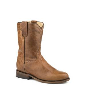 Roper Nash Boots - Mens - Brown/Blue