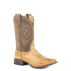 Roper Pierce Conceal Carry Boot - Mens - Cognac