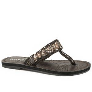 Roper Ladies Debbie Flat Thong Sandals