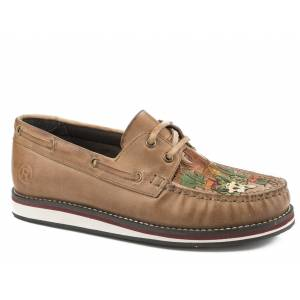 Roper Ladies Bertha Leather Moccasin Shoes