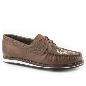 Roper Ladies Filly Leather Moccasin Shoes