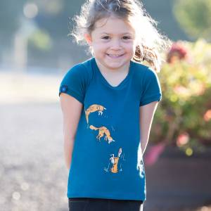 Irideon Kids Fox Games Tee