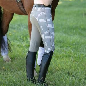 Irideon Ladies Horsehead Camo Tights