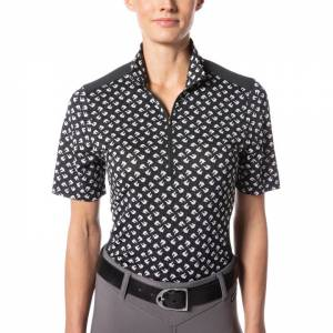 Kerrits Ladies Ice Fil Lite Short Sleeve Print Riding Shirt