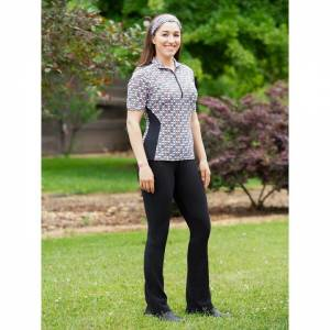 Kerrits Ladies Microcord Extended Knee Patch Bootcut Breeches