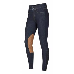 Kerrits Ladies Stretch Denim Knee Patch Breeches