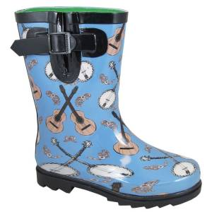 Smoky Mountain Kids Banjo Rubber Rain Boots