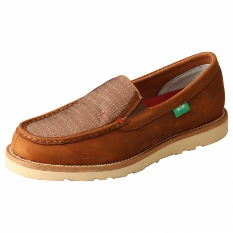 Twisted X Mens Wedge Sole Slip On Shoes