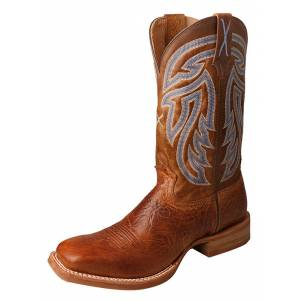 Twisted X Mens Wide Square Toe Rancher Boots