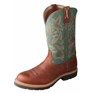 Twisted X Mens Steel Toe Western Work Boots
