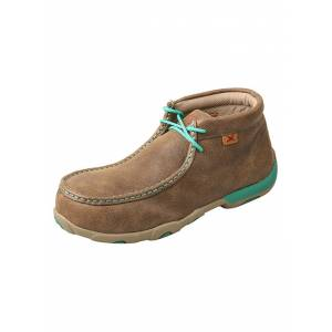 Twisted X Ladies Alloy Toe Chukka Driving Work Mocs