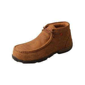 Twisted X Ladies Steel Toe Chukka Driving Work Mocs