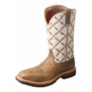 Twisted X Ladies Alloy Toe Lite Western Work Boots