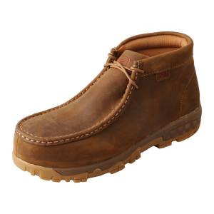 Twisted X Ladies Comp Toe Chukka Work Boots with CellStretch