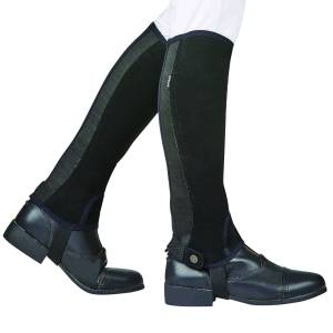 Dublin Kids Easy-Care Silicone Grip Half Chaps