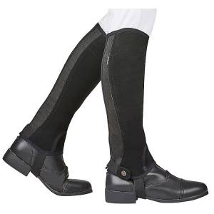 Dublin Adult Easy-Care Silicone Grip Half Chaps