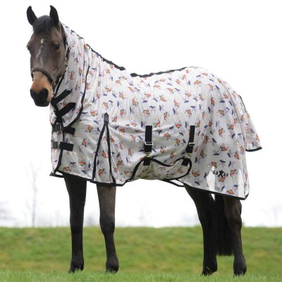Saxon Mesh With Gusset Belly Wrap Combo Neck Fly Sheet