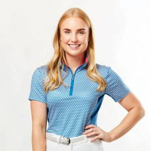 Dublin Ladies Kylee Printed Short Sleeve Shirt