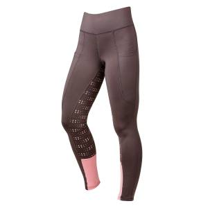 Dublin Ladies Performance Cool-It Dot Print Gel Riding Tights