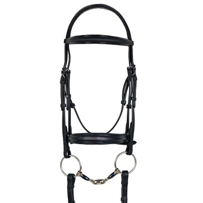 Ovation ATS Drop Nose Dressage Bridle