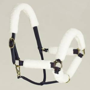 Equi-Essentials Synthetic Fleece Halter Tube Set