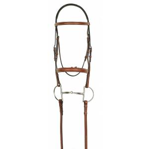 Aramas Fancy Raised Bridle with Fancy Lace Reins