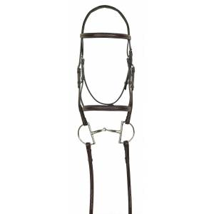 Aramas Fancy Raised Padded Bridle with Fancy Lace Reins