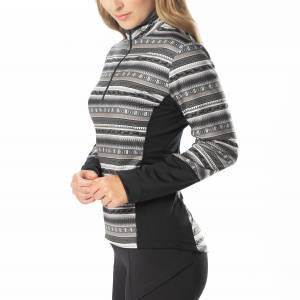 Kerrits Ladies Fair Isle Fleece Tech Top