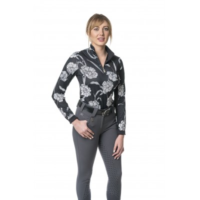 Kastel Denmark Ladies Long Sleeve Floral Shirt