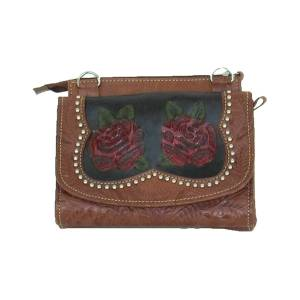 American West Roses Are Red Small Crossbody Bag